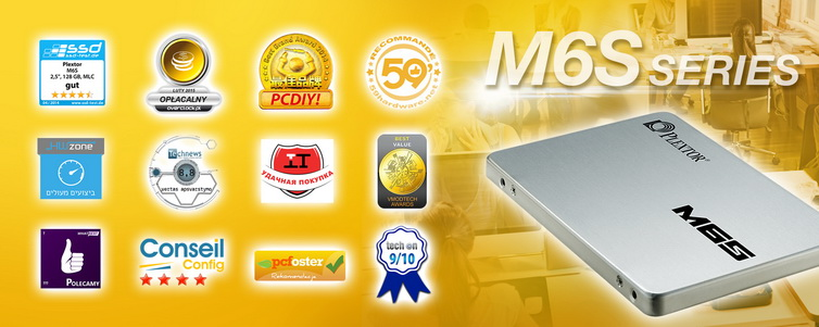 Plextor M6S Series