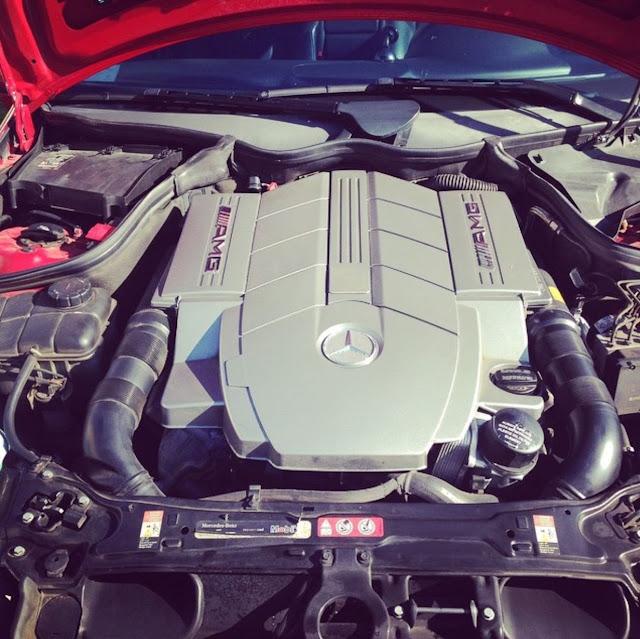 w203 c55 amg v8 engine