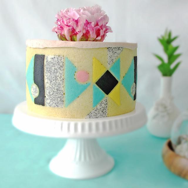 Joconde Imprime Cake