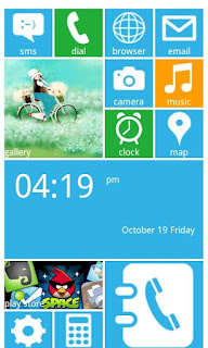 Windows 8 Launcher untuk Android