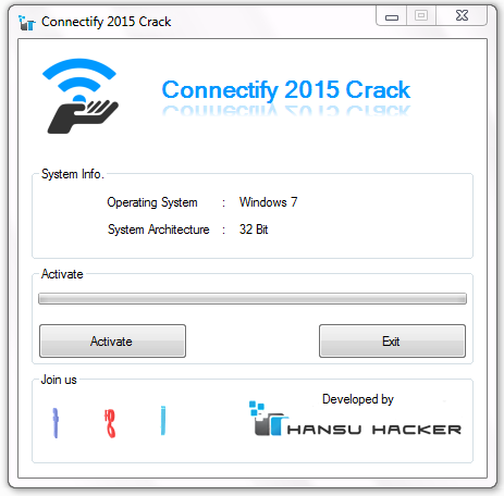 Download Connectify hotspot and crack