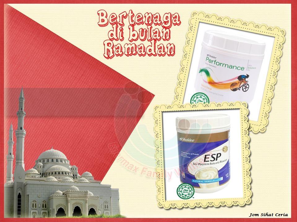 Sihat Bertenaga di Bulan Ramadhan