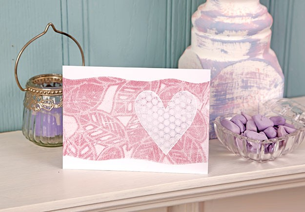 Kim Dellow's Gelatine printing masterclass in Simply Cards and Papercraft 134