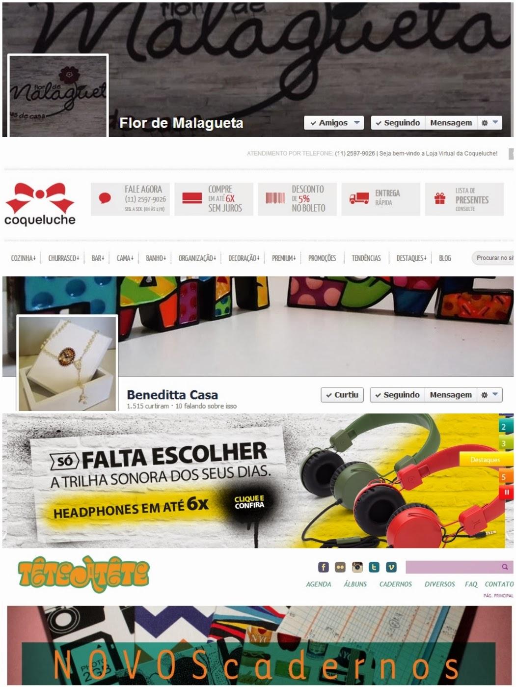 lojas em Santos e na internet