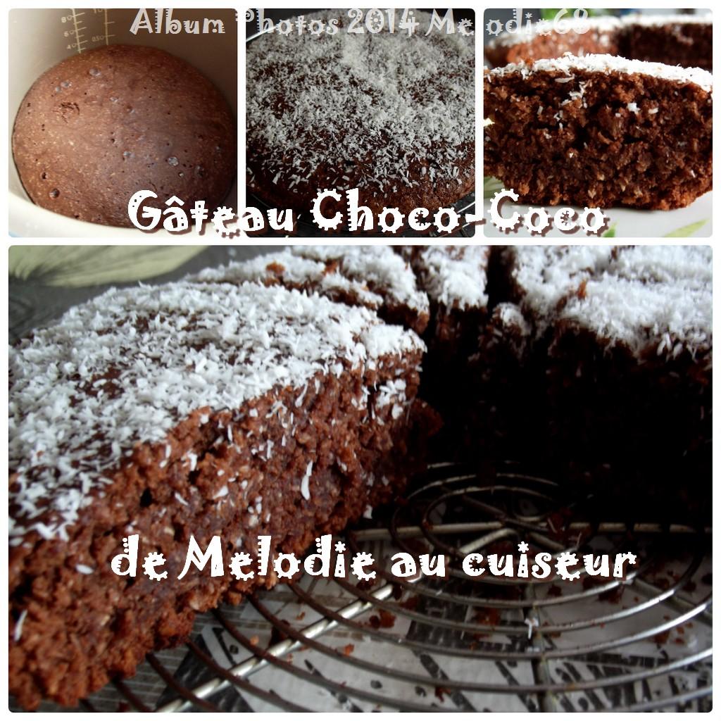 Gateau chocolat au multicuiseur