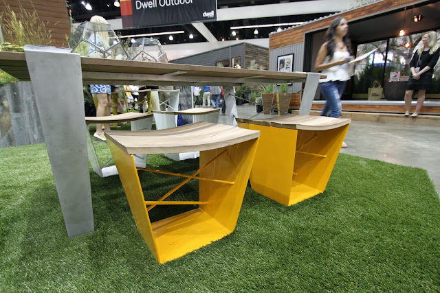 Dwell on Design 2013 Outdoor Garden Planters Shades of Green