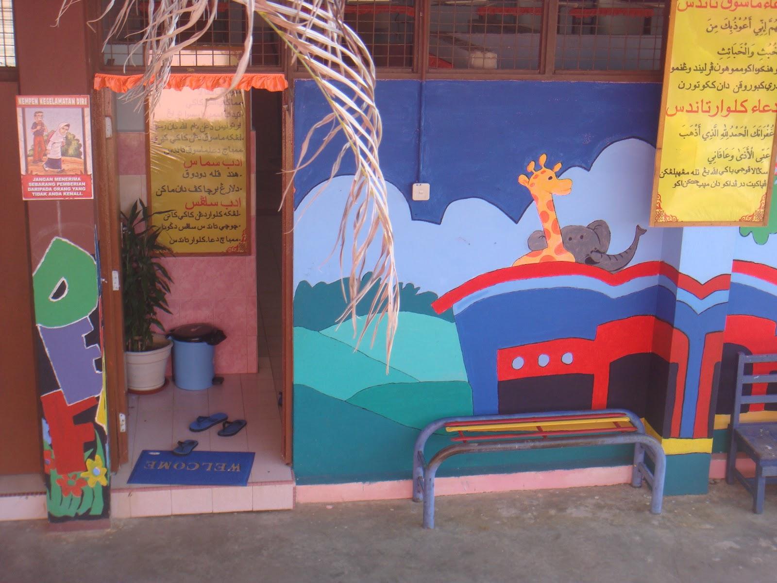 Dunia seni visual dan aku mural sekolah for Mural sekolah rendah
