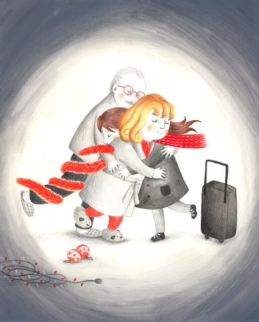 Navidad, Felices fiestas, vuelta a casa por navidad, 2014, familia, abrazo