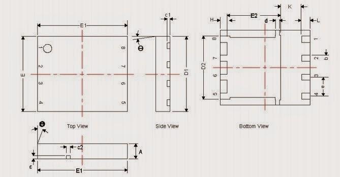 transistor  csd17556q5b 30v n