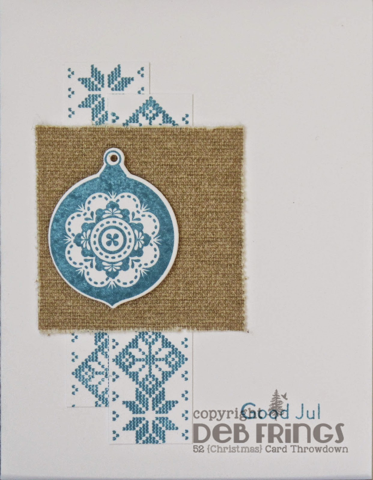 Good Jul Blue - photo by Deborah Frings - Deborah's Gems