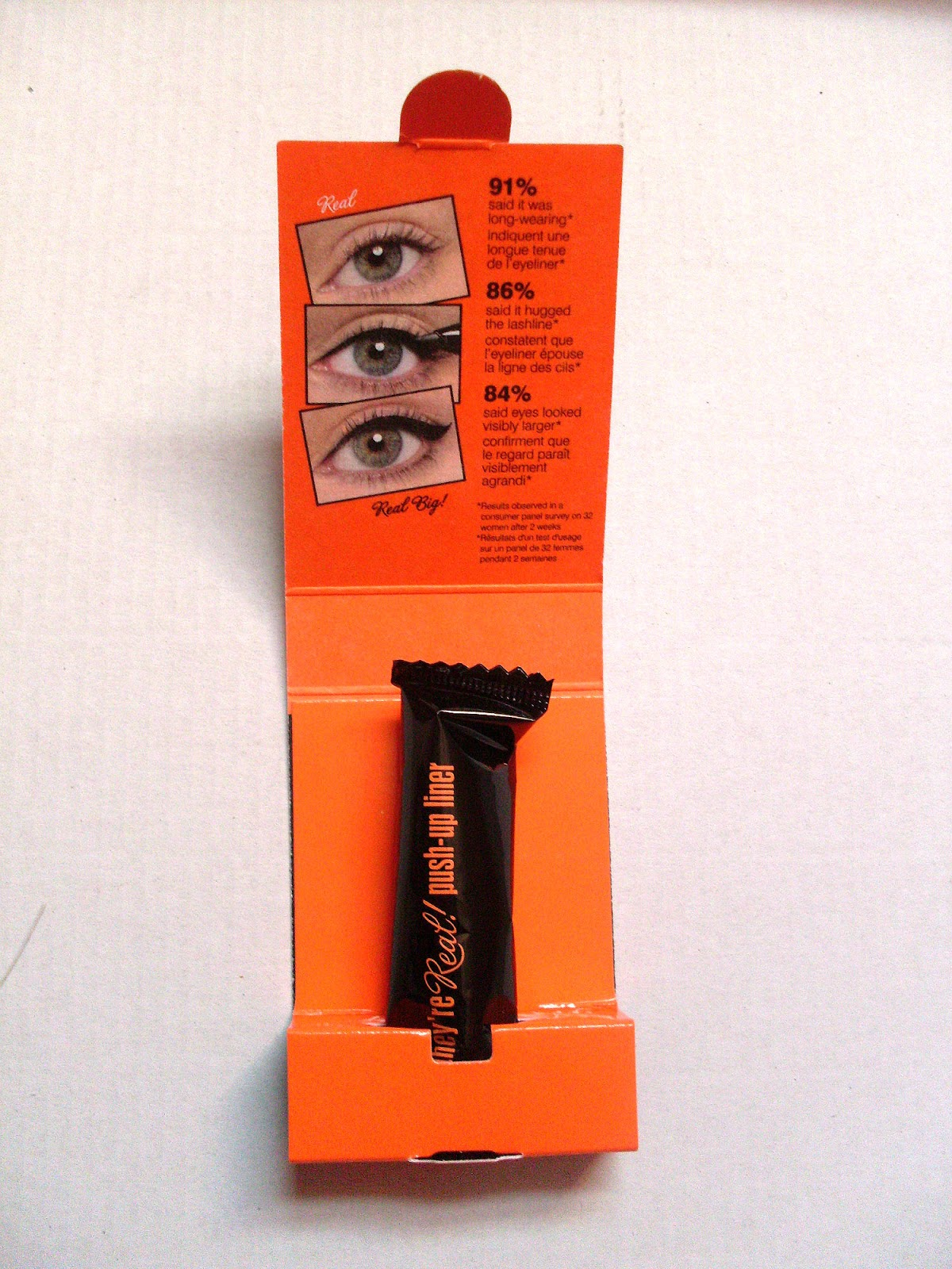 Benefit They're Real Liner sample