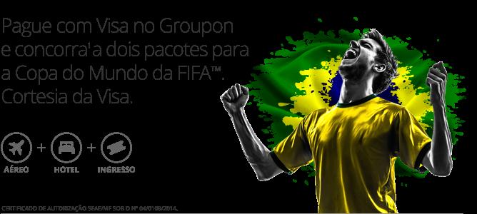 Participar promoção Groupon e Visa 2014