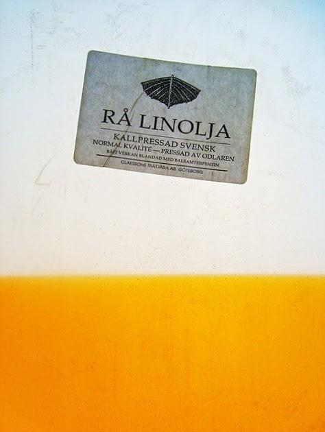 grunda med linolja