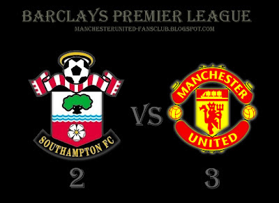 Southampton v Manchester United Result Barclays Premier League 2010 2011