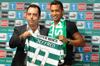 Jeffren Suarez - Sporting CP (1)