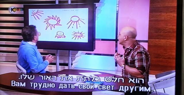 """יוסף אילון: """"הוא חלש בלתת את האור שלו"""" (""""נתיבי אילון"""", ערוץ 10)"""
