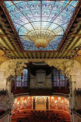 Palau de la Música in Barcelona