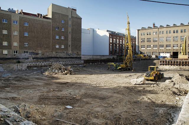 Baustelle Titanic Resorts & Hotels, Chausseestraße 30, 10115 Berlin, 07.07.2013