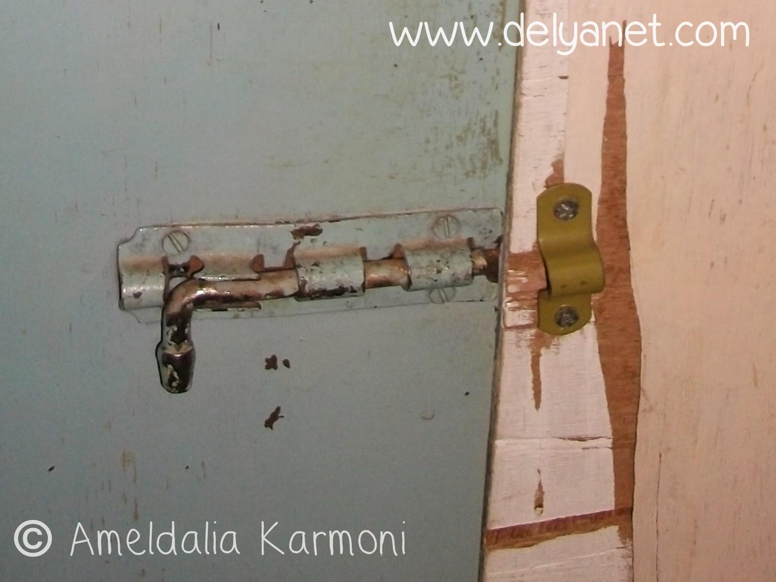 kunci slot yang rusak