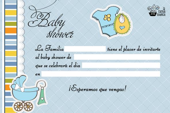 Tarjetas e Invitaciones de Baby Shower para Niños, parte 6