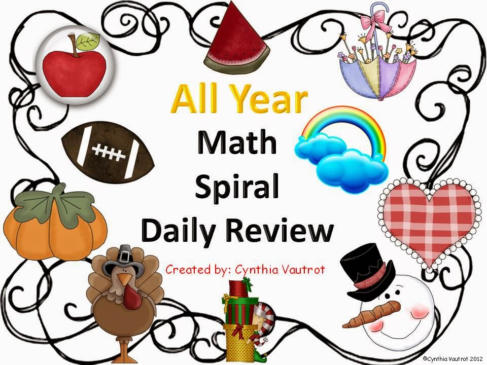 http://www.teacherspayteachers.com/Product/Daily-Spiral-Math-Review-for-All-Year-287653