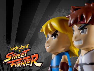 Street Fighter Blind Box Mini Figure Series by Kidrobot