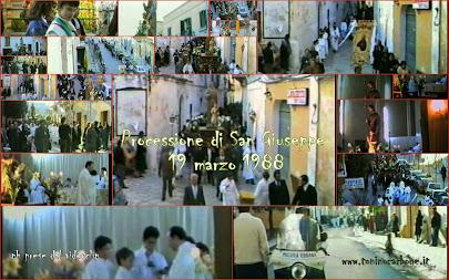 """come eravamo... """"processione di San Giuseppe 19 3 1988"""" ...il video"""