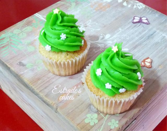 cupcakes de Navidad con buttercream - 3