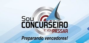 BLOG SOU CONCURSEIRO E VOU PASSAR