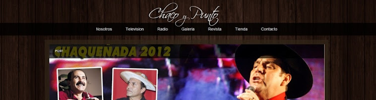 WEB SITE - CHACO Y PUNTO
