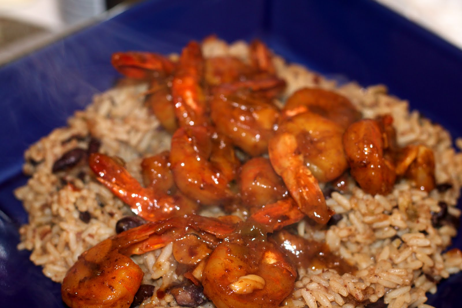 Spicy Club Sauce: Sautéed Shrimp with Sherry and Chilies