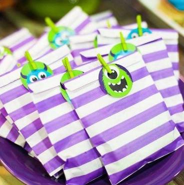 Ideas para fiestas infantiles con personajes de monsters ~ Solountip.com