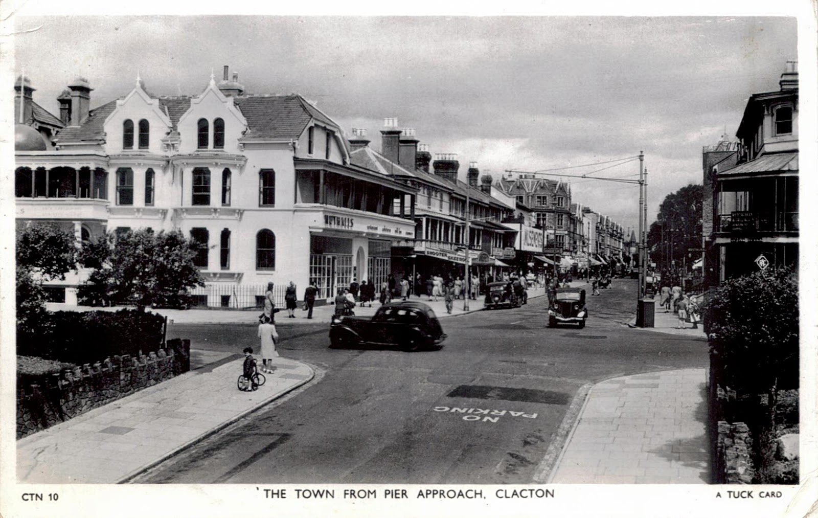 Clacton Town, Essesx in the 1950s