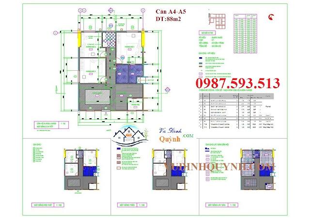 Căn A4-A5 dự án 122 Vĩnh Tuy