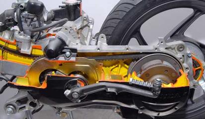 Cara Mengatasi Masalah Pada CVT Honda BeAT