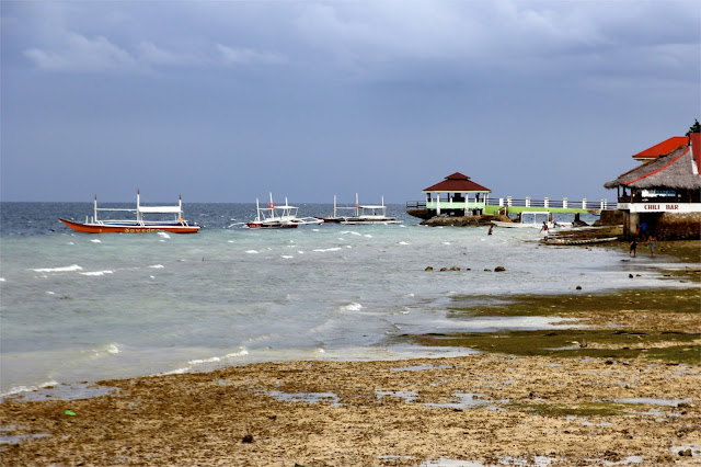 Ocean pier in Cebu, Philippines