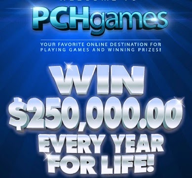 Win $250,000 a Year for Life