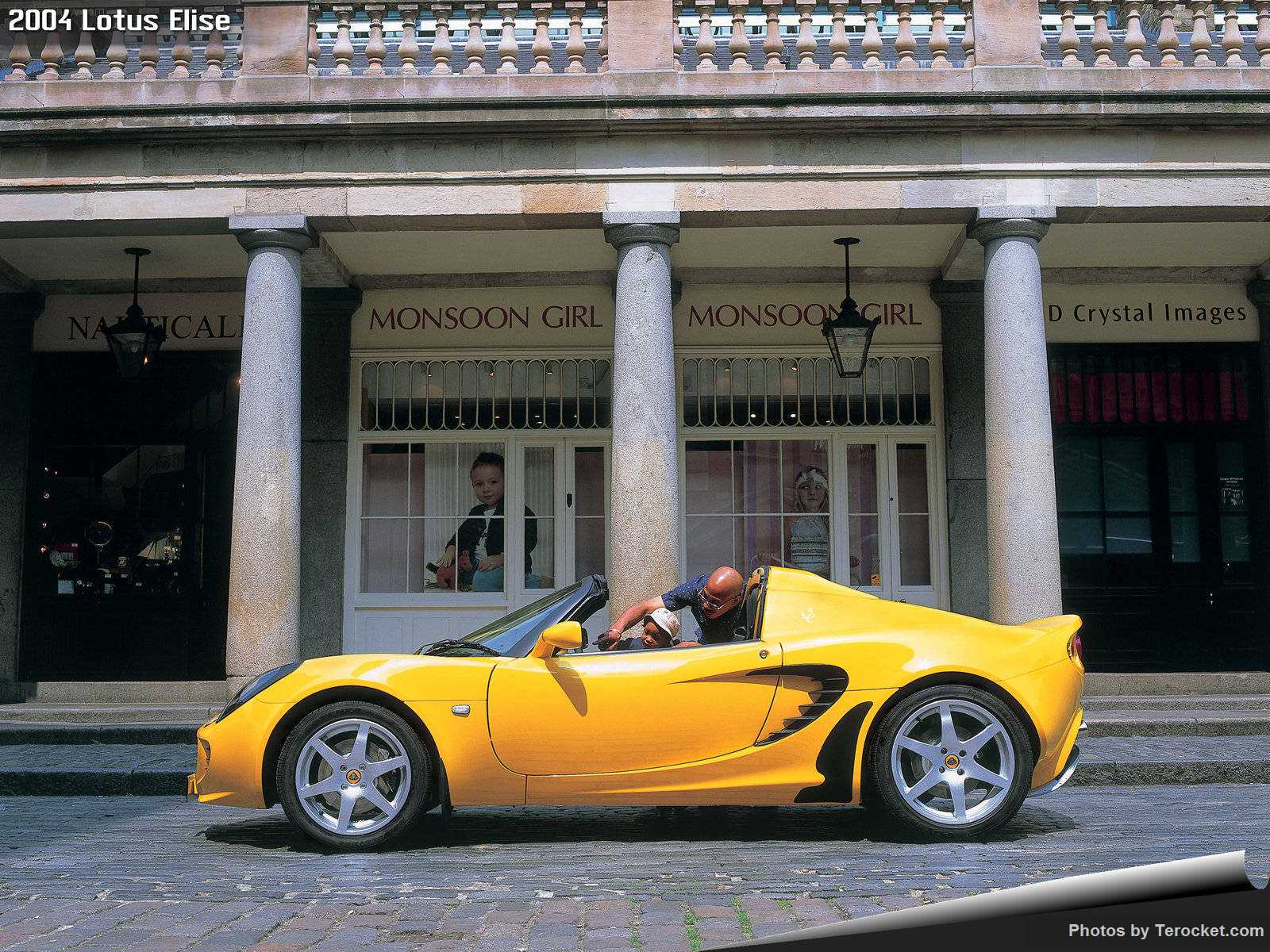 Hình ảnh siêu xe Lotus Elise 2004 & nội ngoại thất