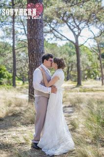 Vintage Rustic Wedding - Wedding Photos Centennial Park Sydney