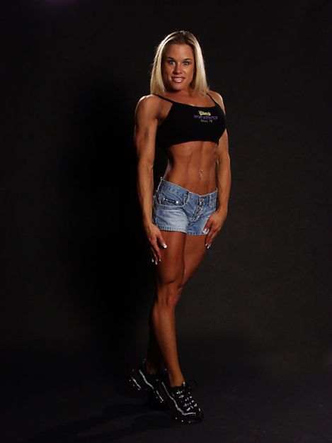 Amy Peters - Female Fitness Models