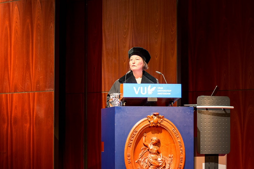 inaugural speech of Dr. J.W. van Saane