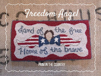 Freedom Angel Punch Needle Pattern $5.00