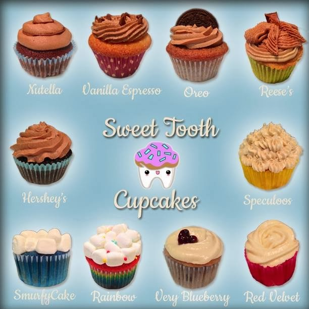Sweet Tooth Cupcakes