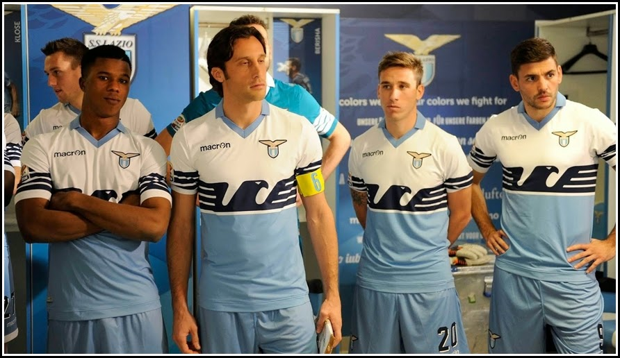 SPECIAL LAZIO 2015 KIT - 'FLAG SHIRT'