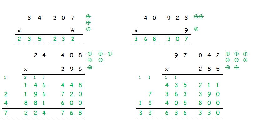 Cahiers de vacances koala math matiques cm2 for La multiplication ce2