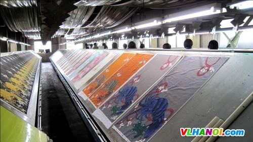 In nhanh vải Silk chất lượng cao