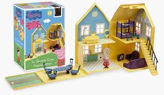 Peppa Pig La Grande Casa Deluxe che si apre Giochi Preziosi