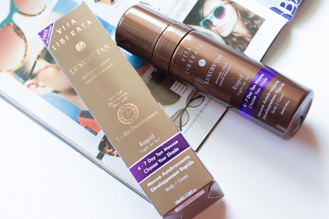 vita liberata rapid 4-7 day tan mousse review