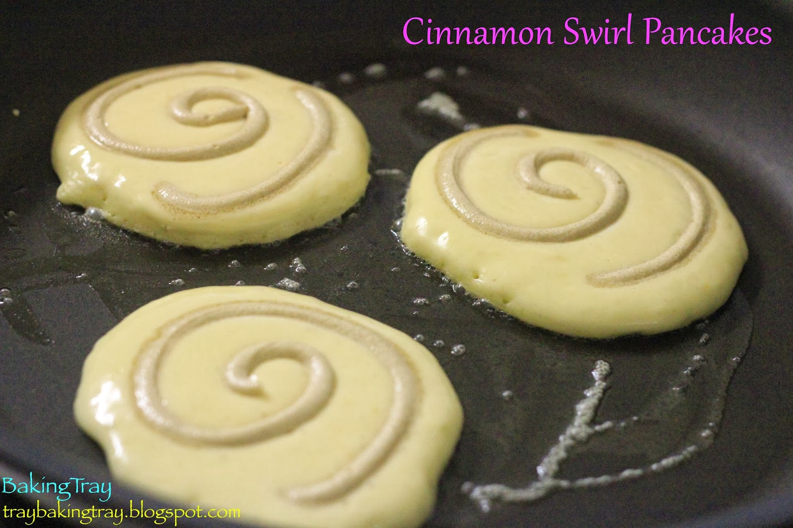 "BAKING TRAY ~\_____/~: THE ""Cinnamoncake"""