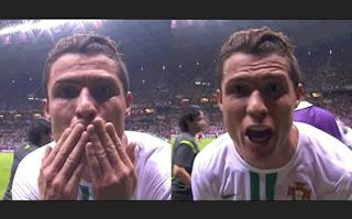 ¿Cristiano dedicó su gol a Lionel Messi?